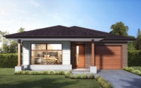 Mackay 14 | Single storey home designs | Worthington Homes