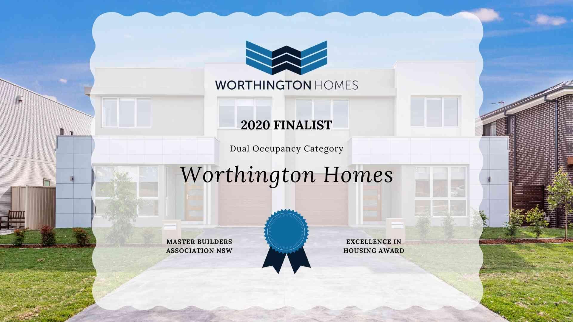 Master Builders Association NSW | Worthington Homes